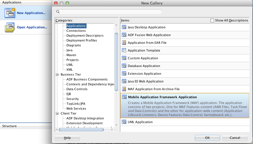 Writing Your First Oracle Mobile Application Framework (MAF